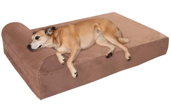 1 Big Barker 7inches Pillow Top Orthopedic Dog Bed