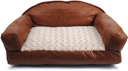 Looking for the Best Leather Dog Bed? Check These Out!: Top Reviews ...