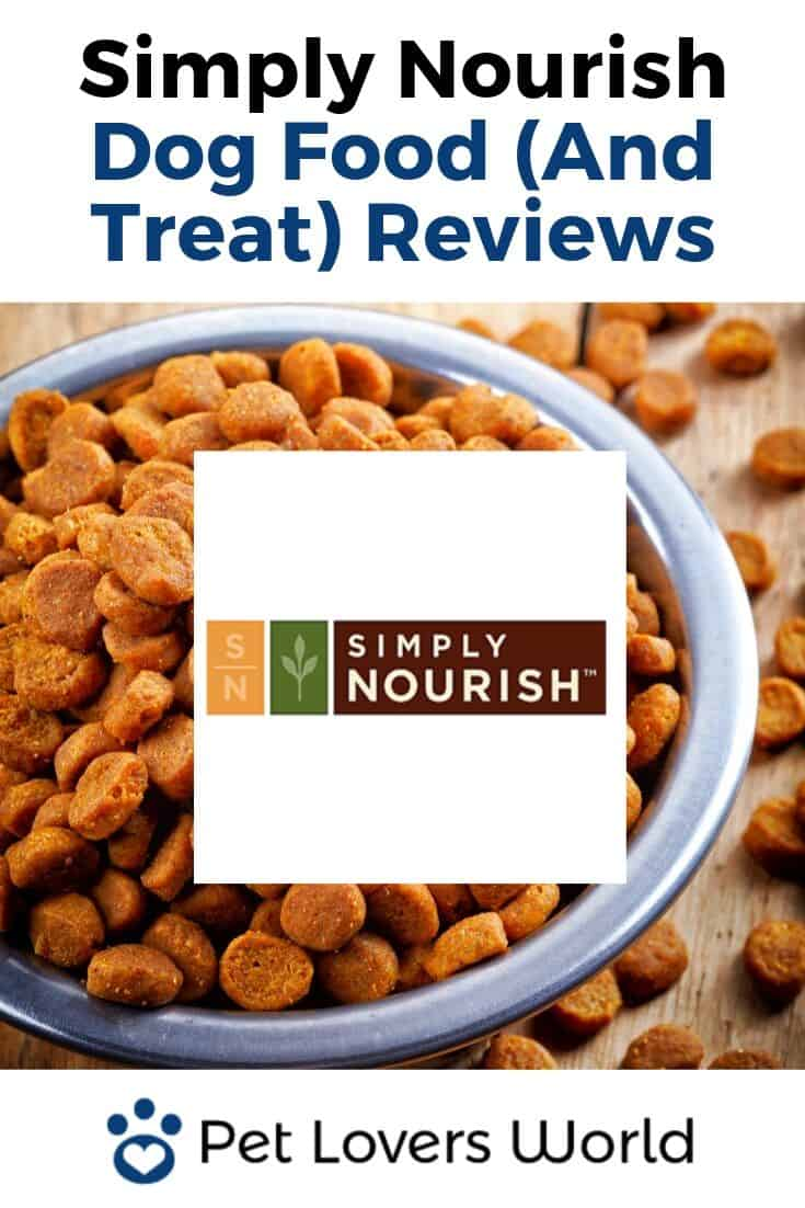 Simply Nourish Dog Food Reviews Pinterest Image